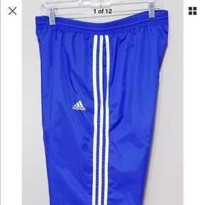 Vintage Men's Adidas Warm Up Track Wind Pants